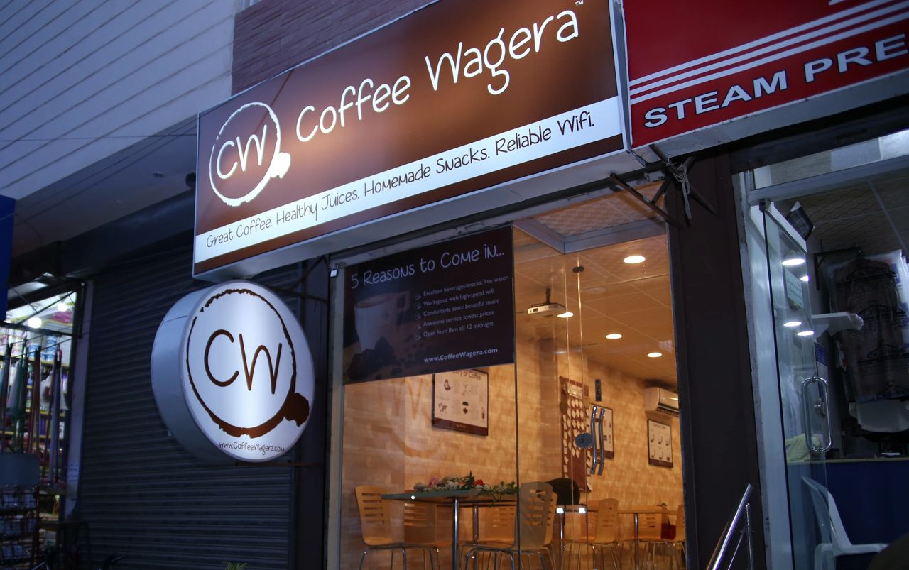 Coffee Wagera just signed up the first franchisee!