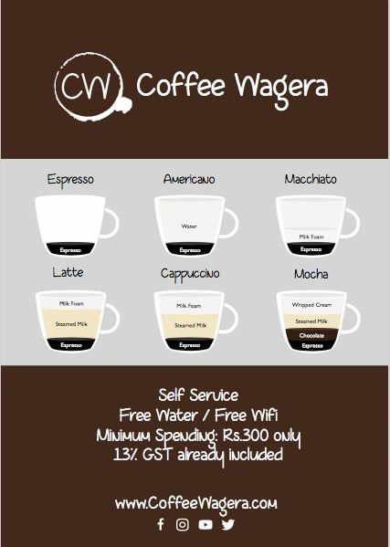 Coffee Wagera will update prices from 8th September!