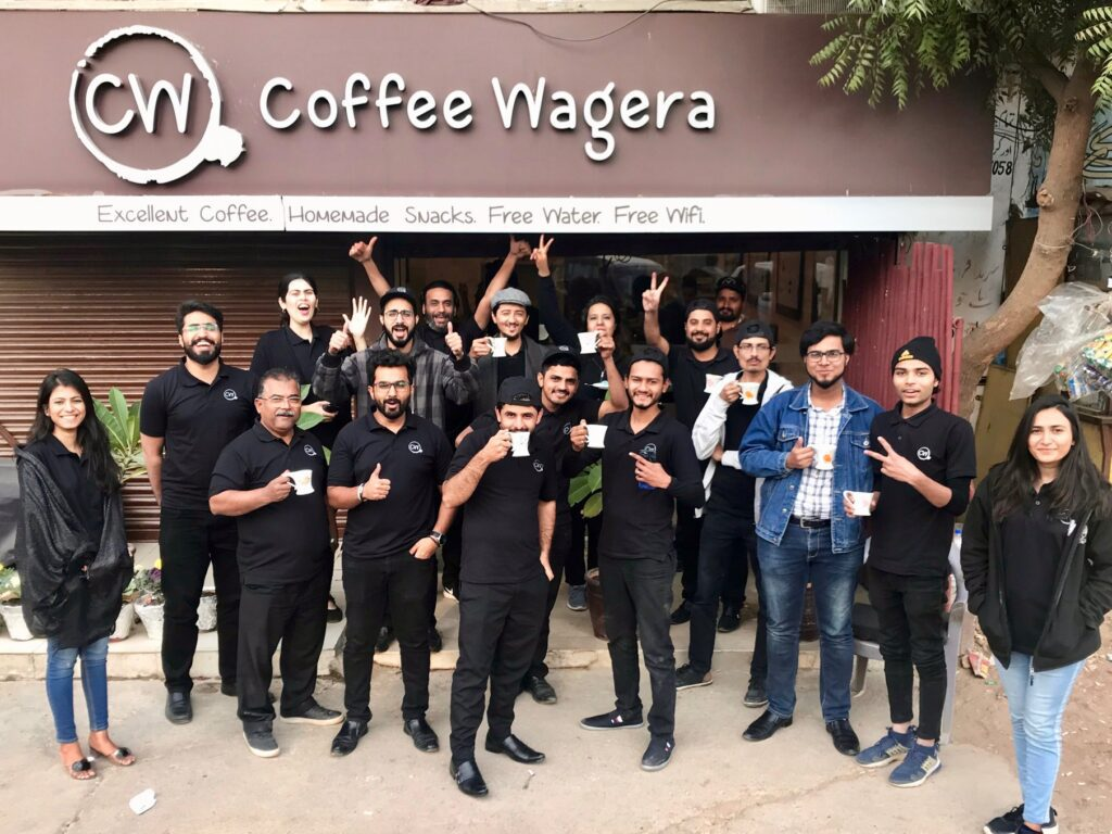 coffee wagera team