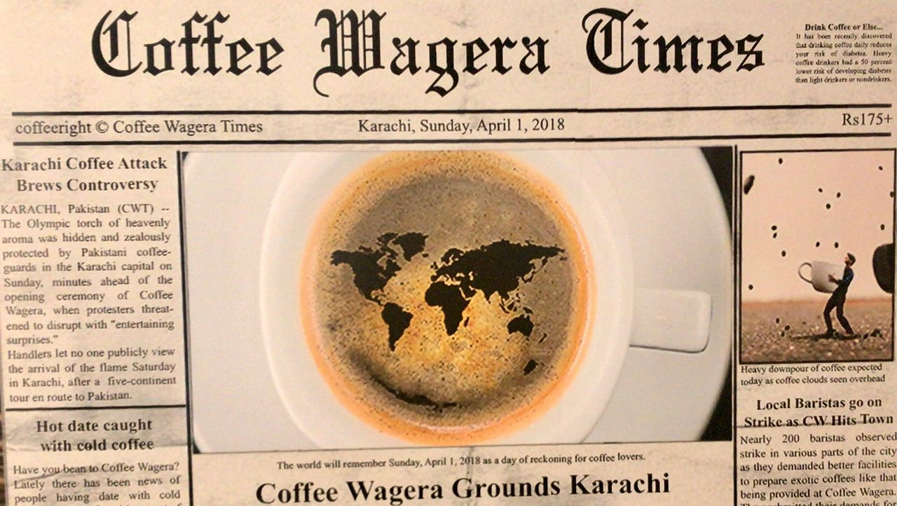5 changes at Coffee Wagera, but no price increase!