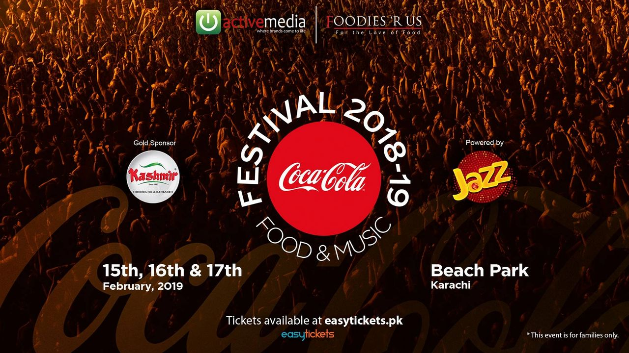 Everything you need to know about CokeFest 2019 in Karachi!