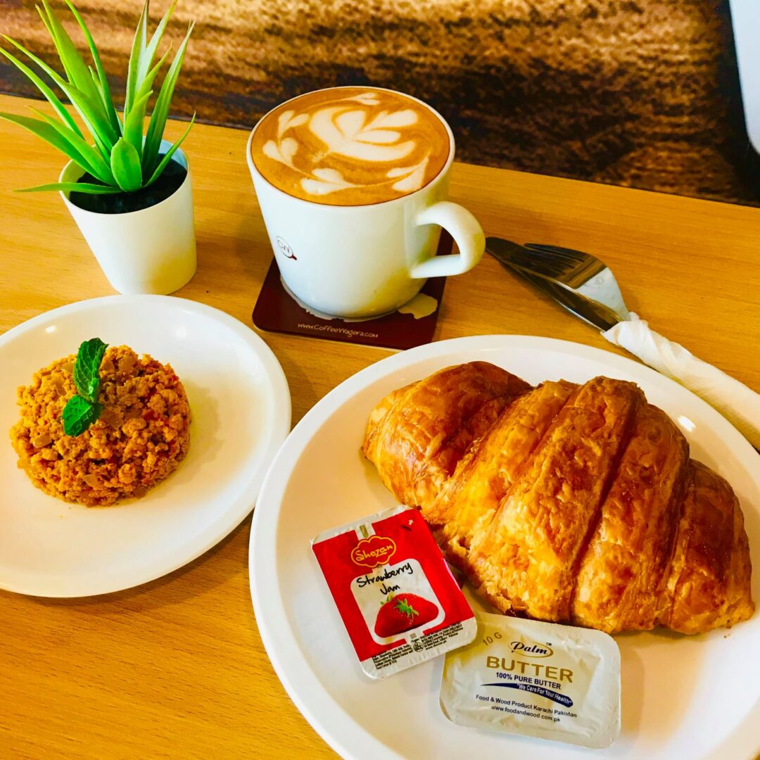 Breakfast with Vroissant