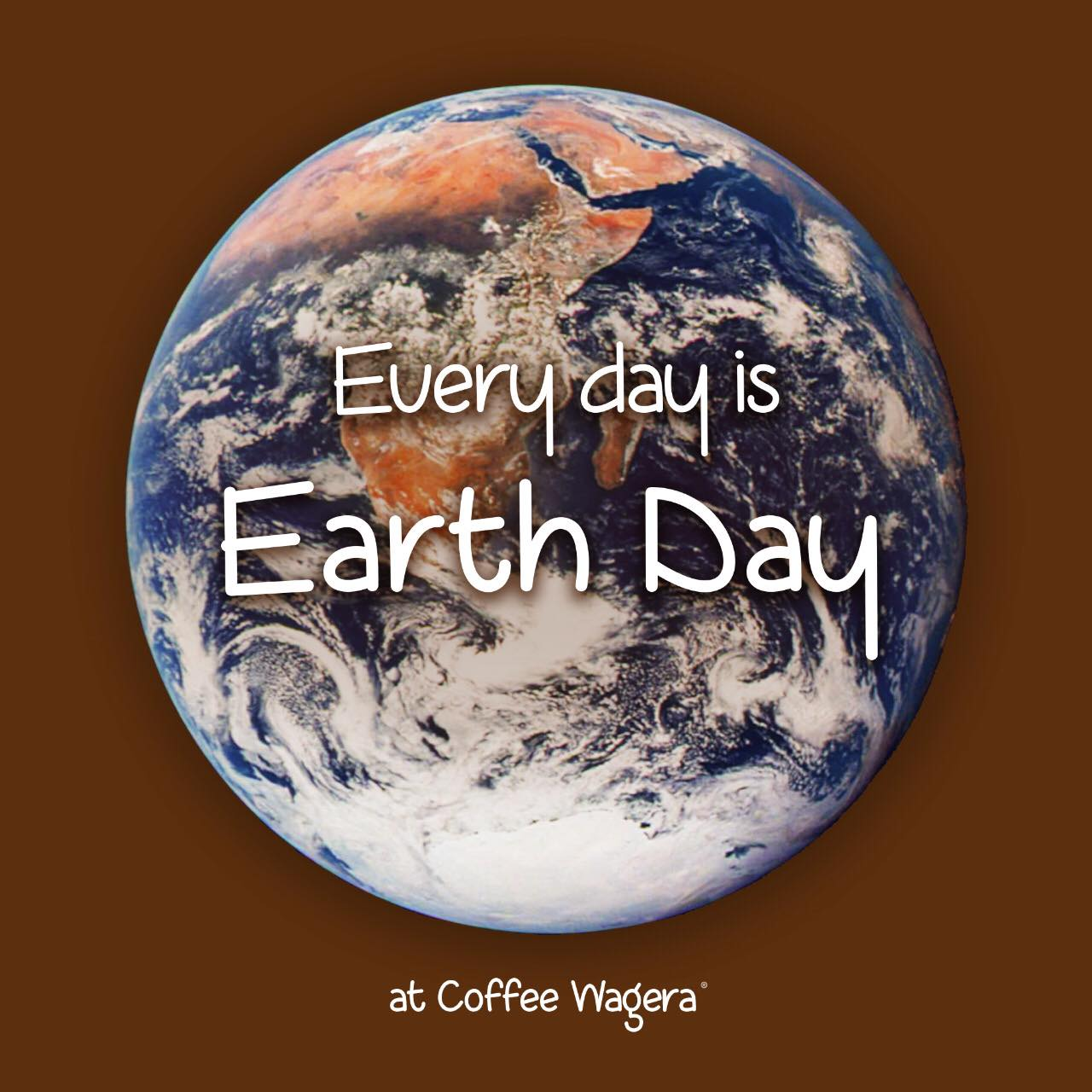 Read more about the article Every day is Earth Day at Coffee Wagera!
