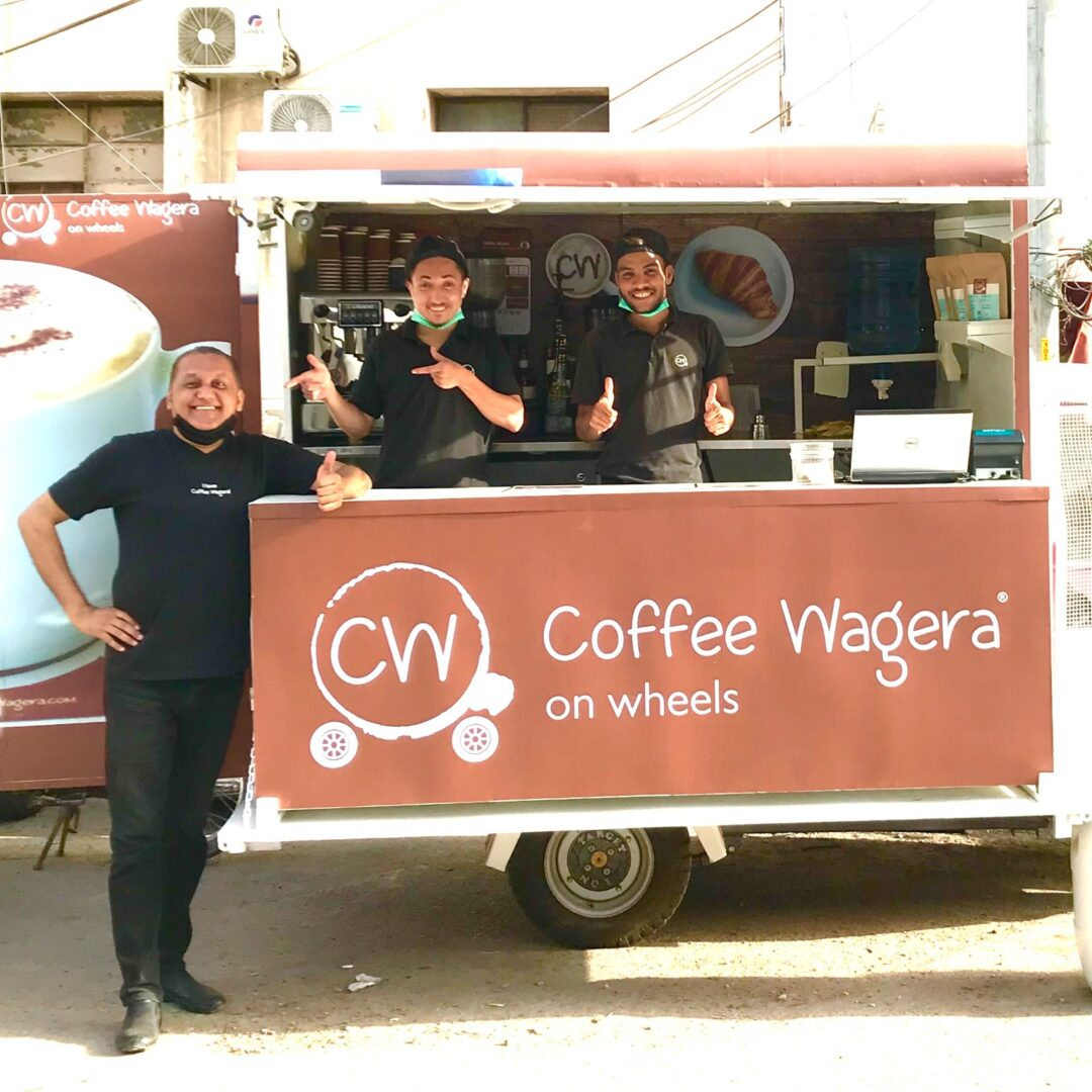 COFFEE WAGERA LAUNCHED THE FIRST CW ON WHEELS!