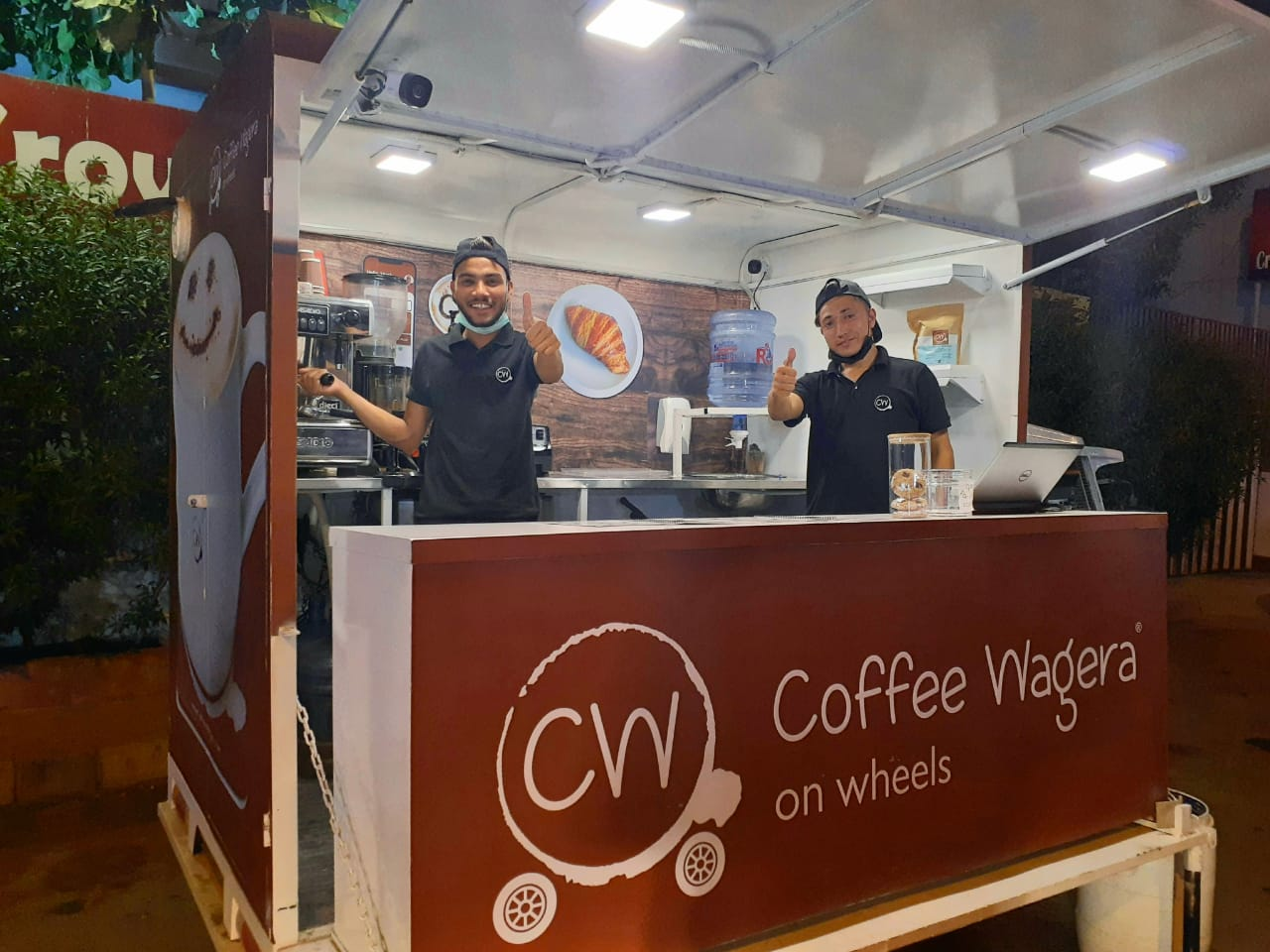 Read more about the article Coffee Wagera featured in The News article: The resurgence of the food car!