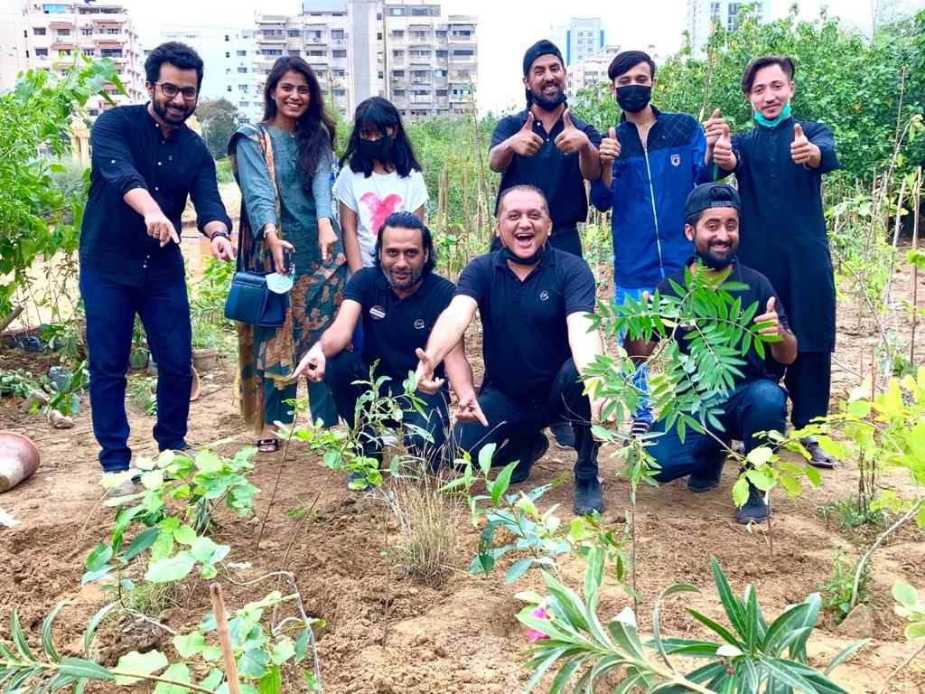 Read more about the article Coffee Wagera celebrated the Independence Day by planting trees at the Urban Forest!